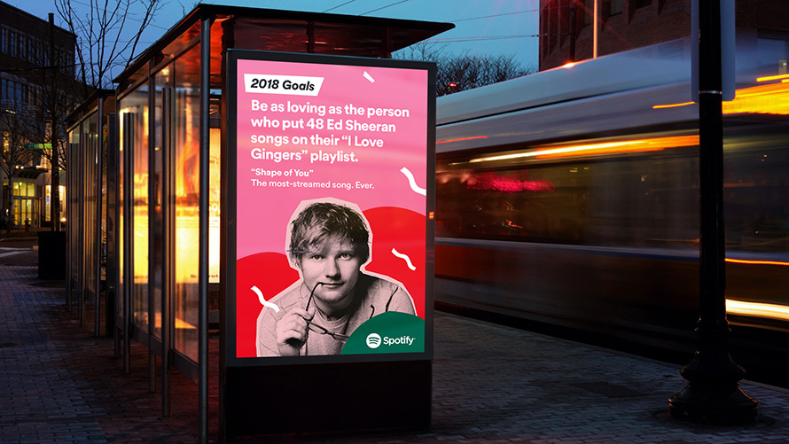 Spotify 2018 goals