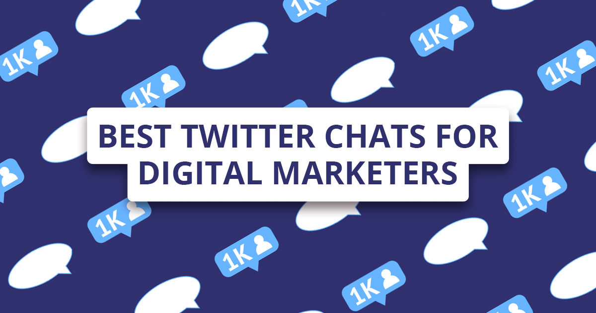 10 best Twitter chats for digital marketers