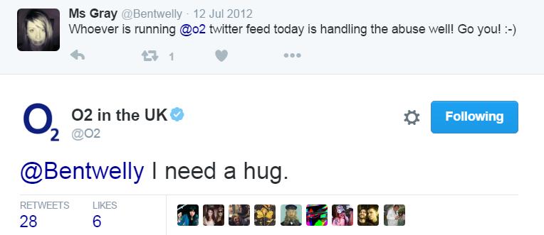 o2 needs a hug