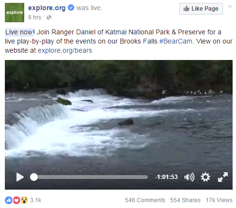live video fb
