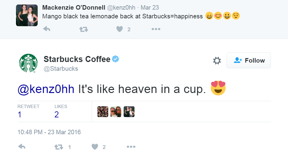friendly starbucks