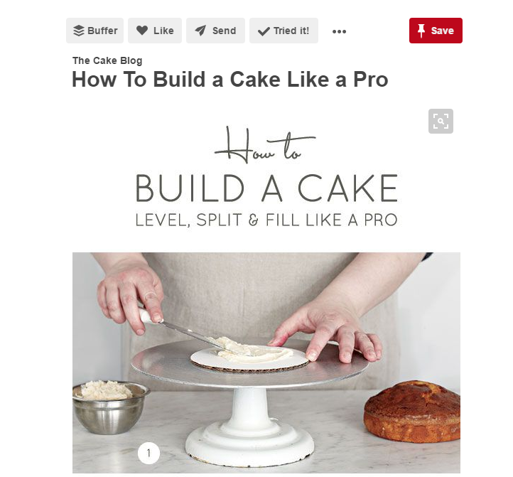 Cake Blog on Pinterest