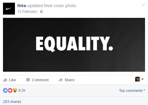 equality nike