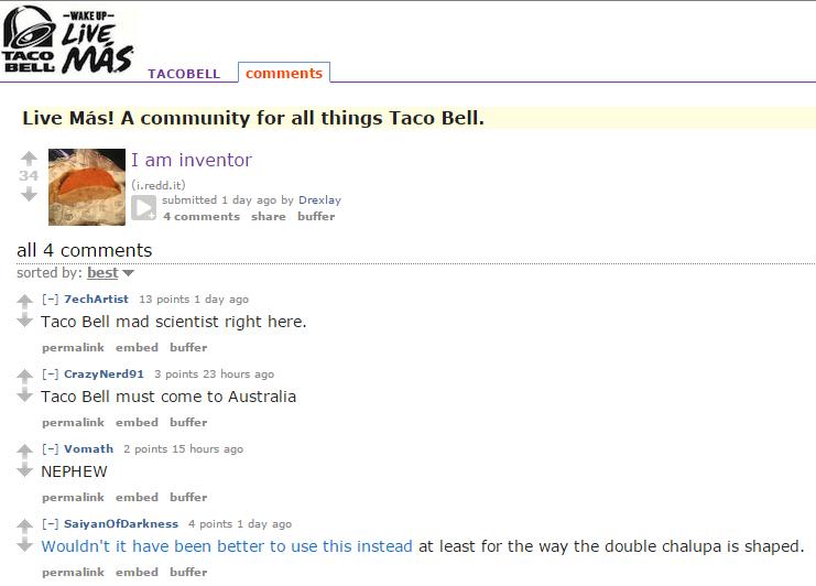 taco reddit