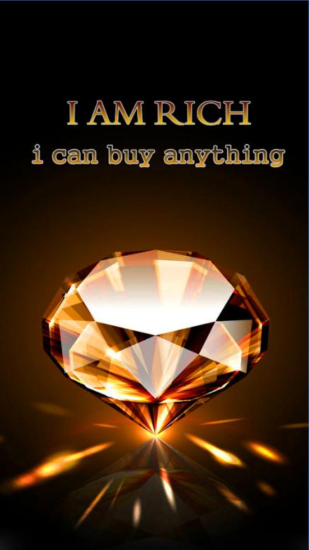i am rich